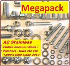A2 Stainless Nut / Bolt / Screw Megapack - Yamaha FS1-E DX