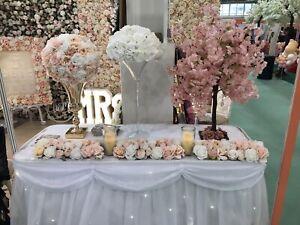 wedding centre pieces hire