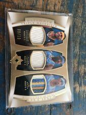 2007-08 Upper Deck Ultimate Triple Patch Anthony, Iverson & Smith #'d 10