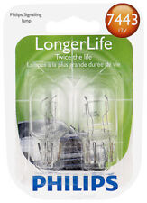Tail Light Bulb-LongerLife - Twin Blister Pack Rear,Outer PHILIPS 7443LLB2