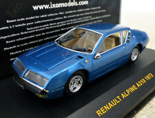 1/43 IXO 1972 Renault Alpine A310 in Metallic Blue. Excellent and Boxed. CLC126
