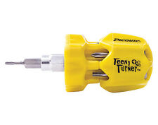 Picquic Teeny Turner 7 Bit Micro Screwdriver - Flathead, Phillips & Square Bits