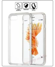 Slim Fit Soft Gel Transparent Crystal Clear Protector Bumper Case for iPhone 8