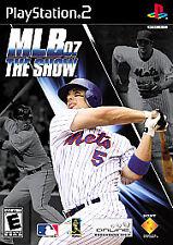MLB 07: The Show (Sony PlayStation 2, 2007) w/ Manual