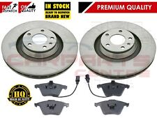 FOR AUDI A6 2.7 TDI C6 SLINE 04-11 FRONT 347mm VENTED BRAKE DISCS PADS SET