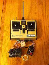 Futaba Vintage FP-T6FG/K  Transmitter w 4 Channel FP-R4F Receiver Rc Airplane