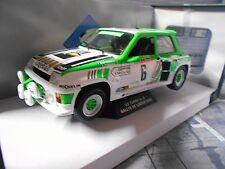 RENAULT 5 Turbo Rallye Lozere Gr.B 1985 #6 Serpaggi heuliez Cogebail Solido 1:18