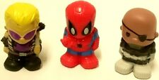Ooshies MARVEL Toys/ pen toppers X3