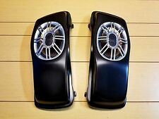 CUSTOM 6x9 LIDS WITH SPEAKER INCLUDED FOR HARLEY DAVIDSON TOURING BIKES 89-2013