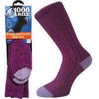 1000 Mile Heavyweight Womens Ladies Fit Walking Hiking 100% Blister Free Socks