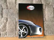 TECHART Porsche Cayman opuscolo.