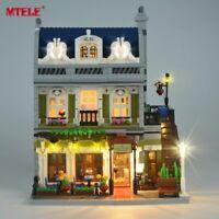 LED Light Up Kit For LEGO 10243 Restaurant House Creator Expert City Street city
