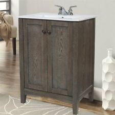 "Beaumont Lane 24"" Bath Vanity in Weathered Oak"