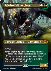 MtG Magic The Gathering Strixhaven: School of Mages Extended Art Cards x1