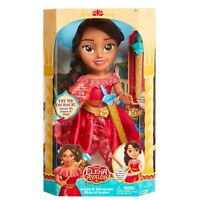 "Disney Elena of Avalor Action & Adventure Toddler Doll 14"" NEW!"