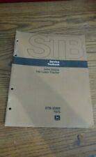 John Deere 100 Lawn Tractor Service Textbook Manual Stb-208M 1975