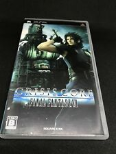 Crisis Core Final Fantasy VII For PSP Japanese Only Import  *USA Seller*