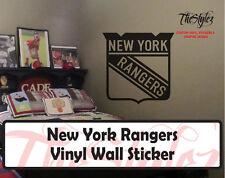 NY Rangers Wall Vinyl Sticker