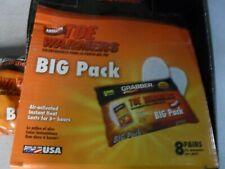 Grabber TWES8 Toe Warmers Instant heat 6+ hours x3 big packs of 8 pair