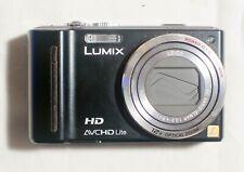 Panasonic LUMIX DMC-TZ10EG-K 12.1MP Digital Camera - Black - with charger