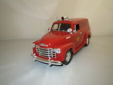 """MIRA  Chevrolet  Panel  Truck  """"1950""""  (rot)  1:18 Ohne Verpackung !"""
