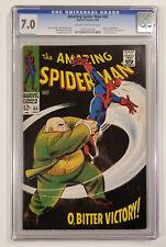 Amazing Spider-Man #60 (CGC 7.0! Stan Lee Story! John Romita Cover! Wow!)
