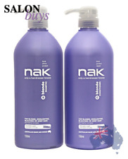 NAK Hair Blonde Shampoo 1 Litre From Celcius Skin & Beauty