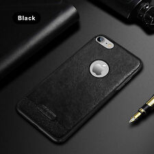Luxury Ultra-thin Slim Soft PU Leather Back Case Cover For iPhone 5S 6 6S 7 Plus