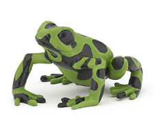 Papo 50176 Equatorial Green Frog Model Figurine Toy New for 2015 - NIP