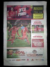 Programme match DFCO-PSG 2018-19.