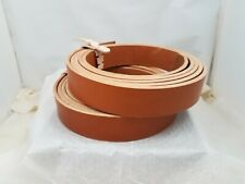 English bridle leather strap- 1.5 Inch Wide (one)