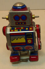 @WALKING TIN TOY MS235 ROBOT WIND UP WALKER😎