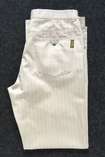 Men's Armani Jeans Comfort Fit Summer Trousers Size W36 L33 Perfect!