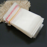 100X Clear Cellophane Plastic Card Bags | Cello Display Bags For Greeting Cards