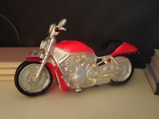 Vintage Harley Motorbike LED Table Lamp-red 29cm X 10cm X 16cm