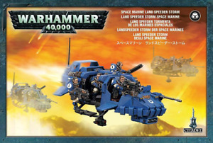 Space Marines Land Speeder Storm - Warhammer 40k - Brand New! 48-35