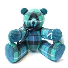 Graham Of Montrose Ancient Tartan Collectable Bear Handmade Very Limited