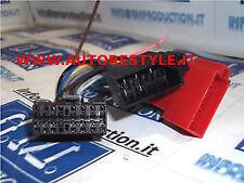 Cavo ISO adattatore autoradio cable Sony da 16 pin 30×12,5mm da 2002 CDX MDX MEX