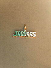 Jacksonville Jaguars Team Name Necklace Pendant Charm  24k Gold Plated JAGUARS