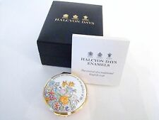 Halcyon Days Enamel Box - Sisters are blossoms in the garden of life 001/10092