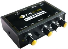 K&K Sound Pure XLR Preamp/EQ/DI for Passive Piezo or Magnetic Guitar Pickups NEW