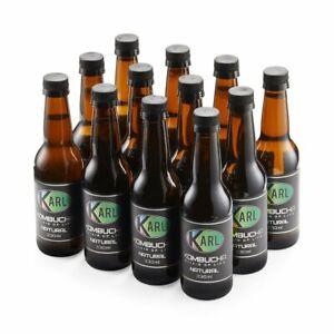 Handcrafted Kombucha 12 Pack! 12 x 330ml bottles