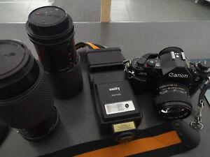 canon a1 objektiv 1,4 objektiv schwarz sehr guter Zustand