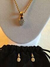 Swarovski Yellow Gold Plated Costume Jewellery Sets
