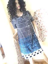 H&m Damen Dress Kleid Hemdkleid Jeanskleid Gr