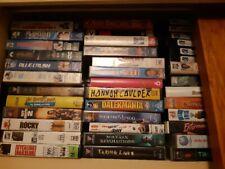 Bulk lot original vhs movies hundreds rare cheap comedy drama horror