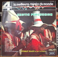 STANLEY BLACK ET SON ORCHESTRE EXOTIC PERCUSSION FRENCH LP DISQUES PHASE 4