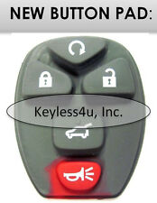 keyless remote  button pad replacement starter GM 25836188 transmitter key fob