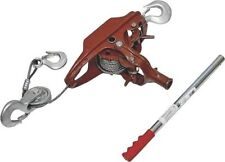 New American Power Pull 15002 3 Ton Extra Heavy Duty Cable Puller Come Along