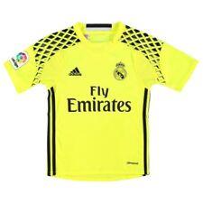Maillots de football de club étranger jaunes adidas manches courtes